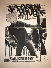 BAST Revolution De Papel 2006 Art Print Pictures On Walls Street Art Graffiti