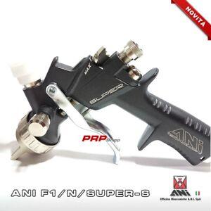 Ani-F1-N-SUPER-S-1-2-Aerografo-Pistola-A-Spruzzo-Per-Verniciatura-Professionale