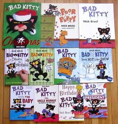 Lot 11 Bad Kitty Poor Puppy Books Nick Bruel Drawn To Trouble Baby 4 Hb L2 Ebay A debuff tracker for feral druids. lot 11 bad kitty poor puppy books nick bruel drawn to trouble baby 4 hb l2 ebay