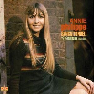 ANNIE-PHILIPPE-Sensationnel-Ye-Ye-Bonbons-1965-1968-180g-red-vinyl-LP-Mauriat