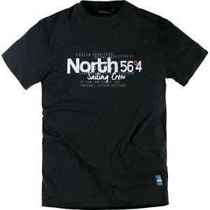 Cotone 99829 A In Stampa 564 Nero North Xl Premium 8xl Maglietta Puro Taglia qBW4WYPE