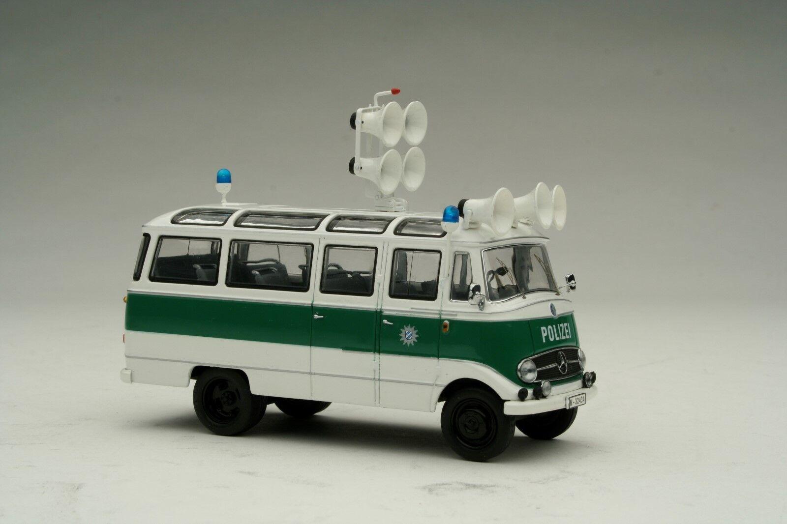 Schuco 1 43   Mercedes-Benz 0319 Polizei    Shu02816