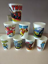 7 ELEVEN 7-11 PLASTIC CUP-1977-ABOMINATION THE INCREDIBLE HULK