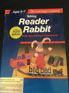 The-Learning-Company-Reader-Rabbit-Apple-IIgs-Complete-Good-Condition