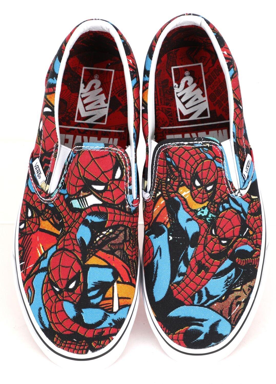 VANS Marvel Spider Man Classic Slip-on