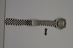 Vintage-Rolex-1500-Stainless-Steel-Case-and-Band-Original-Rolex-Crown-and-Tube