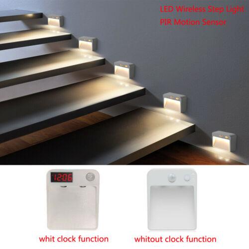 LED Wireless Auto Light PIR Motion Sensor Step Stair Pathway Stair Wall Light