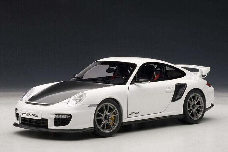 PORSCHE 911 (997) bilRERA GT2 RS MAT VITE 1 18 bilkonst 77963 BRAND NY I låda