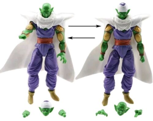Super Z Sayan Goku Figure Modellino Statuina 16Cm. 3 PERSONAGGI DRAGON BALL