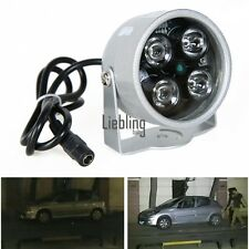 Infrarrojo Visión nocturna IR Luz iluminador lámpara para IP CCTV CCD Cámara