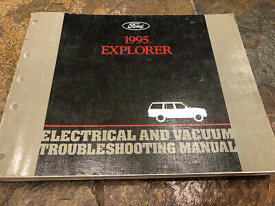 1995 Ford Explorer Wiring Diagrams Electrical Service Manual Ebay