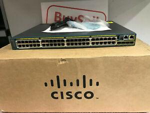 Cisco-Catalyst-2960S-48FPS-L-Switch-Managed-48-ports-avec-Pile-Port-Module
