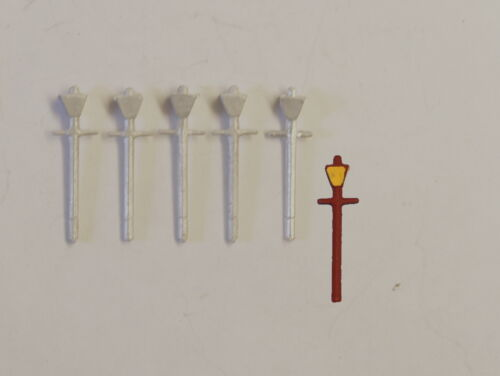 P&D Marsh N Gauge n Scale B43 LMS Station lamps 5 castings require painting