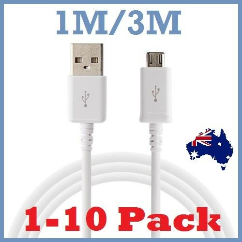 1-10Pack Micro USB charging Data Cord for Samsung Galaxy S7 Edge S6 S5 S4 S3