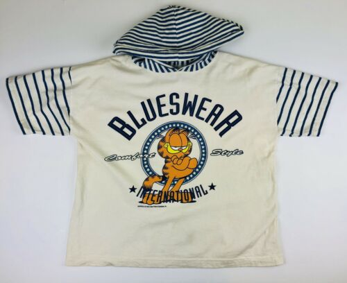 Vintage 1978 GARFIELD Blueswear International Hood