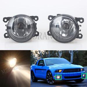 Pair-Front-Bumper-Fog-Light-Lamps-For-Ford-Focus-Ecosport-Fiesta-Transit-Ranger