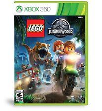 LEGO JURASSIC WORLD XBOX 360 NEW! DINOSAUR FUN ACTION! FAMILY GAME PARTY NIGHT!#