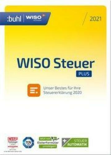 WISO Steuer plus 2021 Jahreslizenz 1 Lizenz Windows Steuer ...