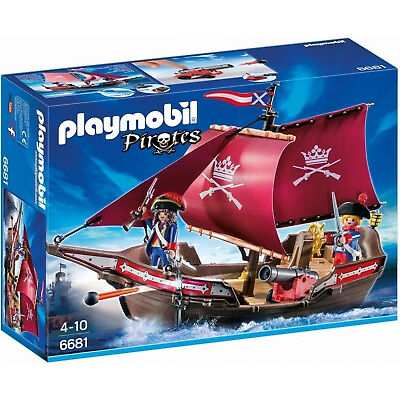 Playmobil Pirates 6681 Floating Soldiers Patrol Boat
