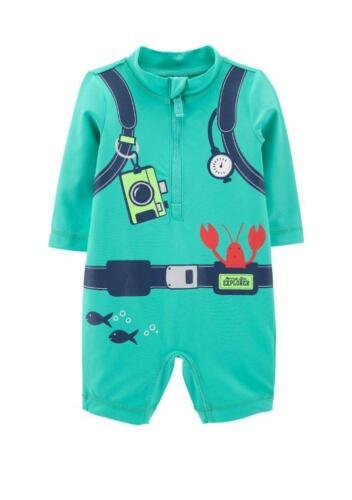 CARTER/'S Baby Boy 6M Scuba Diver 1-pc Rashguard Swimsuit NWT