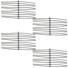 20 x 1.5mm Cutting Lines for FLYMO Minitrim Basic ET20 Grass Strimmer Trimmer