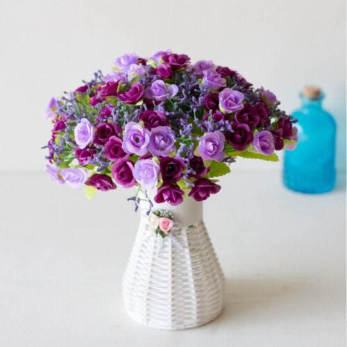Wedding 1 Bouquet Plastic Rose Flower Artifical Flower Silk Flower Home Decor