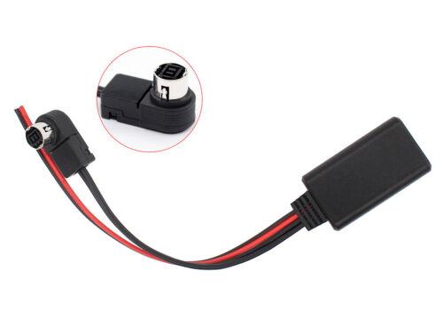 Bluetooth Aux Adapter Cable Cord For Alpine KCA-121B CDA-9857 CDA-9886 CDA-117