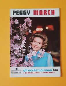 Sheet-Music-Musical-Eyes-Your-Are-Blue-Peggy-March-B-Zac