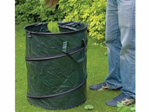 LARGE HEAVY DUTY POP UP GARDEN BIN BAG WASTE RUBBISH CARRIER LEAVES BAG SACK