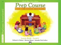 Prep Course For The Young Beginner: Lesson Book Level C By Willard A. Palmer, (p on sale