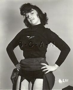Org Vintage 1940s-60s Semi Nude RP- Super Endowed- Bra