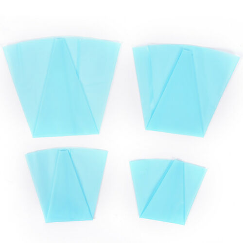 4 Sizes Silicone Reusable Icing Piping Cream Pastry Bag Cake Decorating Tool/_ne