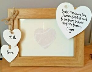 Image Is Loading Personalised Photo Frame Gift Best Friends Are Like