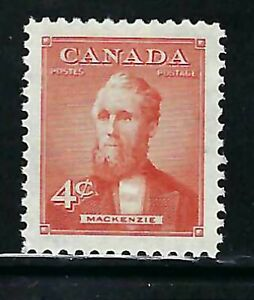 CANADA - SCOTT 319 - VFNH - ALEXANDER MACKENZIE - 1952