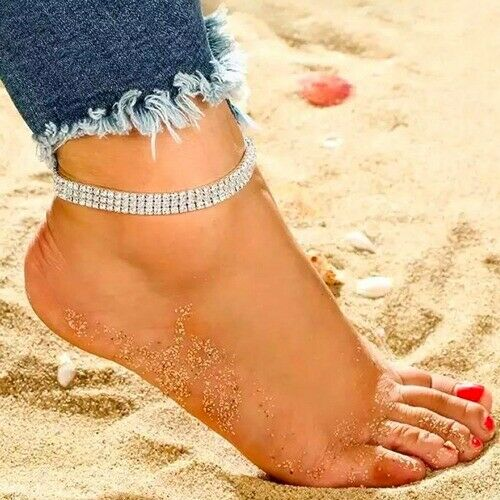 Boho Ankle Bracelet Anklet Adjustable Chain Foot Beach Jewelry