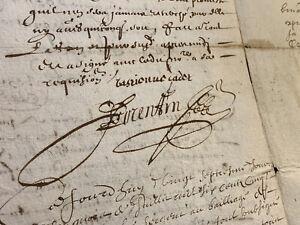 ANTIQUE-MANUSCRIPT-1654-8-pages