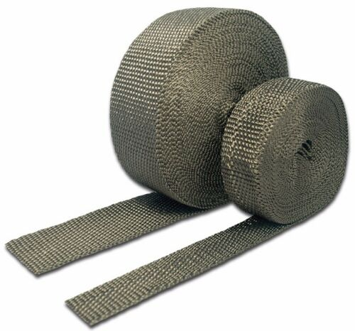 """Thermo-Tec THE11041 1"""" x 50' Carbon Fiber Exhaust Wrap Sold Individually"""