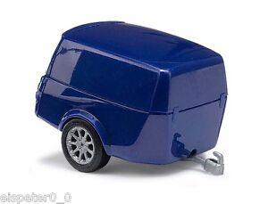 Busch-44992-Clever-Trailer-Blue-H0-Car-Model-1-87