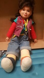 Lewis-Galoob-Toys-punky-Brewster-doll-with-key-necklace-1984-Vintage