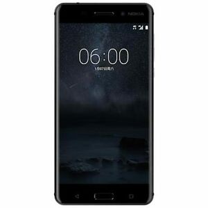 New-Imported-Nokia-6-Duos-Dual-64GB-4GB-5-5-034-16MP-8MP-Black-Color-Android-Nougat