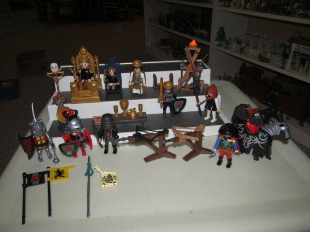 Playmobil Miniature Castle Medieval Knight Brown Jousting Lance w// Handguard