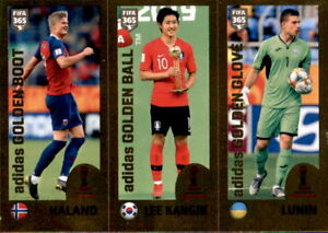 Panini-Fifa-365-2020-Sticker-427-Awards-Haland-Lee-Kangin-Lunin