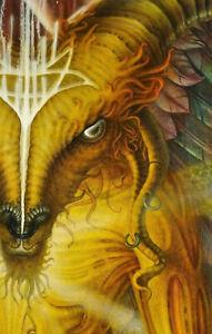 Sigillum-Dei-Aemeth-Baphomet-Fantasy-Mythology-Occult-104x84-Surrealism-Painting