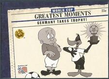 UPPER DECK WORLD CUP USA 1994-LOONEY TOONS- #096-GERMANY TAKES TROPHY!-1974