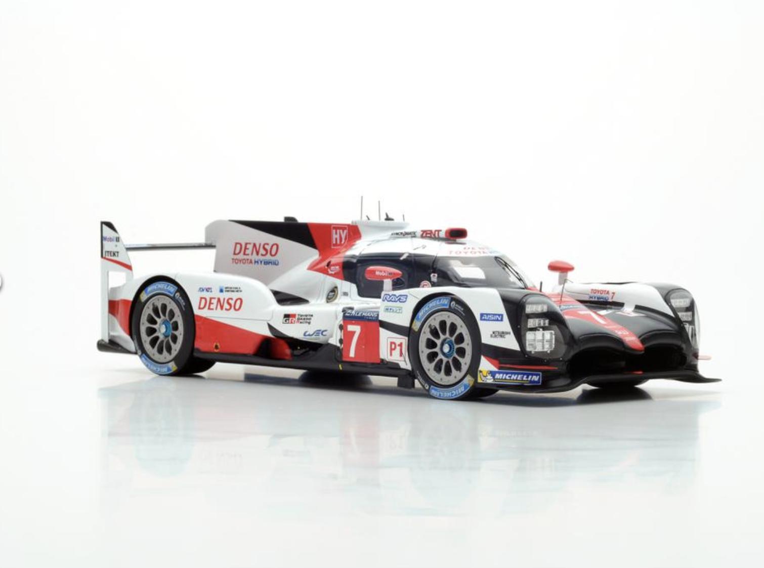 SPARK 1 18 Toyota TS050 Hybrid Le Mans Mans Mans 2017 Conway Kobayashi Sarrazin 18S321 50fa68