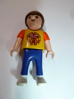Playmobil Child Kid Boy Brown hair Giraffe Shirt Spectacles Cargo pants