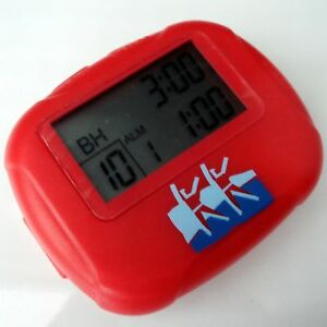 workout multiple interval training and circuit timer stopwatch ebay