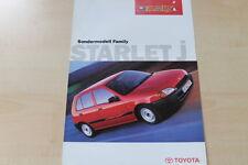 88317) Toyota Starlet Family Prospekt 07/1997