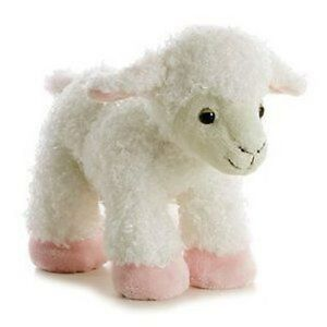 "Aurora Bah Bah Lamb 12"" Plush # 05812, NEW By Aurora"