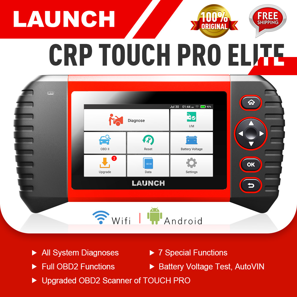 LAUNCH X431 CRP TOUCH PRO ELITE Auto Diagnostic OBD2 Escáner lectores código
